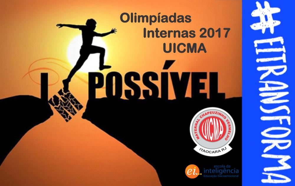 Olimpíadas Internas 2017 UICMA